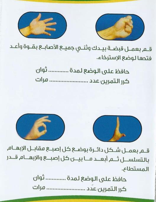 تمارين اليد 1 3