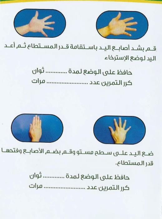تمارين اليد 1 4