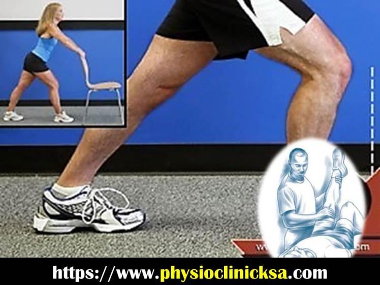 تمرين عضلات الساق